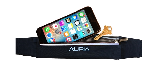 Slim Smartphone Belt - Black