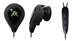 Zeal Earphones - Black/Black - ZEA4300K1K1